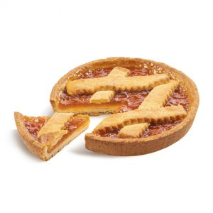 Tortina Crostata Albicocche - Mid-sized cake apricot crostata