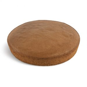 Pan di spagna tondo al cacao - Round Chocolate Sponge Cake