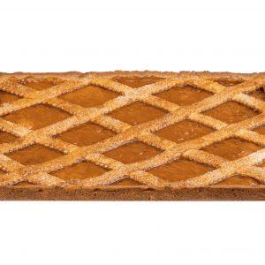 Trancio Confettura di Albicocca - Apricot Crostata Sheet Tart